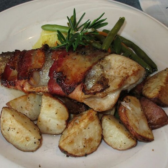 Bacon Wrapped Trout - Riverwalk Restaurant - Yorktown, Yorktown, VA