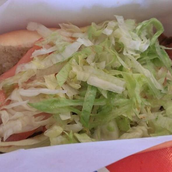 """""""Fat Boy"""" Hot Dog @ Hank's Haute Dogs"""
