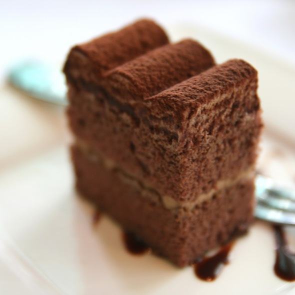 Chocolate Sponge Cake @ Mr. J