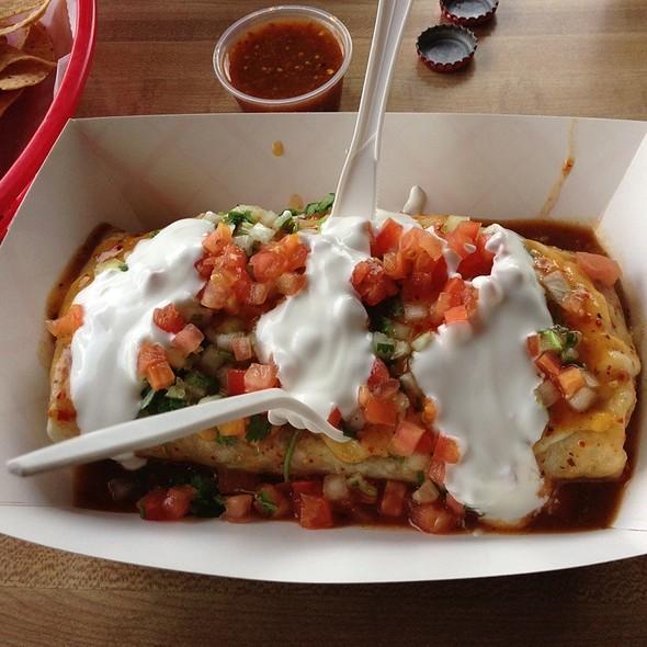 Burrito Jalapa @ Bean Scene