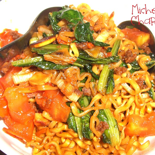 Curly Noodle with Chicken and Chili Padi @ Michelle Charissa Home