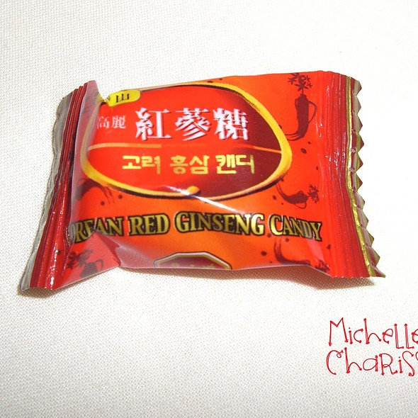 Korean Red Ginseng Candy @ Michelle Charissa Home