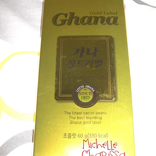Ghana Gold Label Chocolate @ Michelle Charissa Home