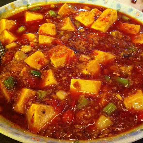 Tofu In Pickled Chili Sauce - Han Dynasty University City, Philadelphia, PA