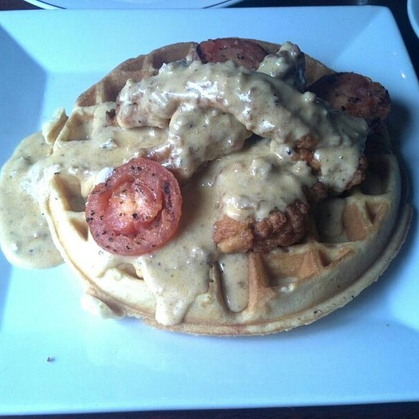 Chicken and Waffles @ Lady Nawlins