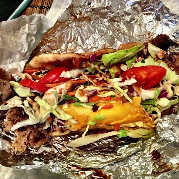 Bbq Cheesesteak Pita @ The Gypsy Queen Food Truck