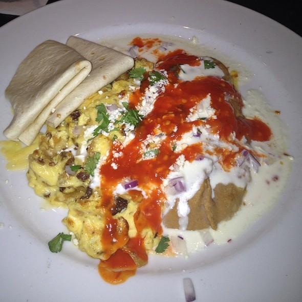 Chorizo Migas - Red Drum Restaurant and Bar, Mount Pleasant, SC