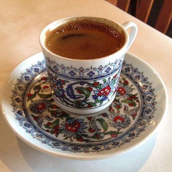 Turkish Coffee - Anatolia Turkish Restaurant, Nashville, TN