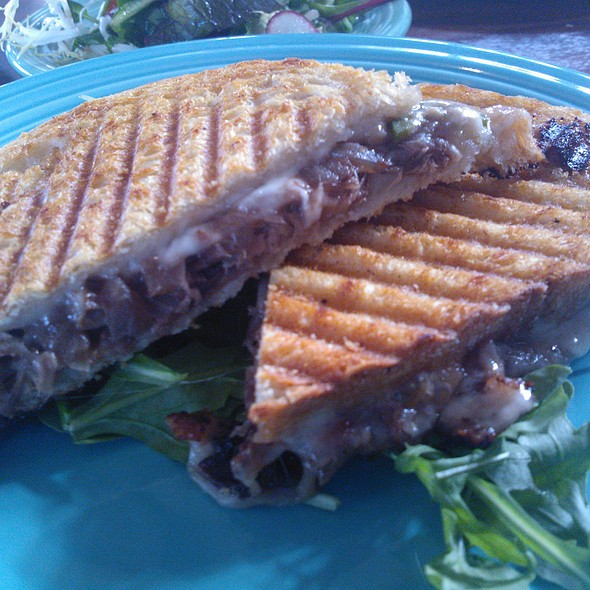 Shaved Short Rib Grilled Cheese @ Post and Beam
