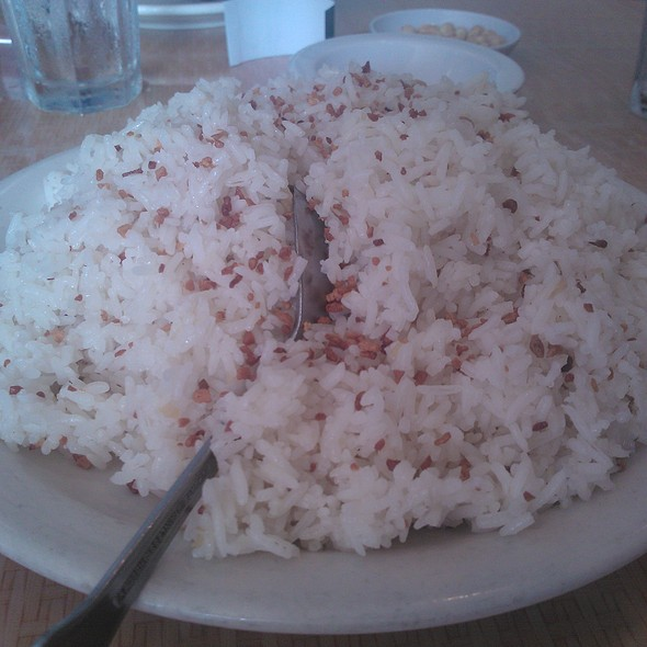 Garlic Rice @ salo salo grill & restaurant