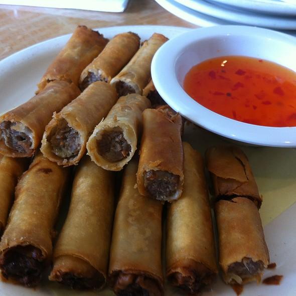 Lumpia @ salo salo grill & restaurant