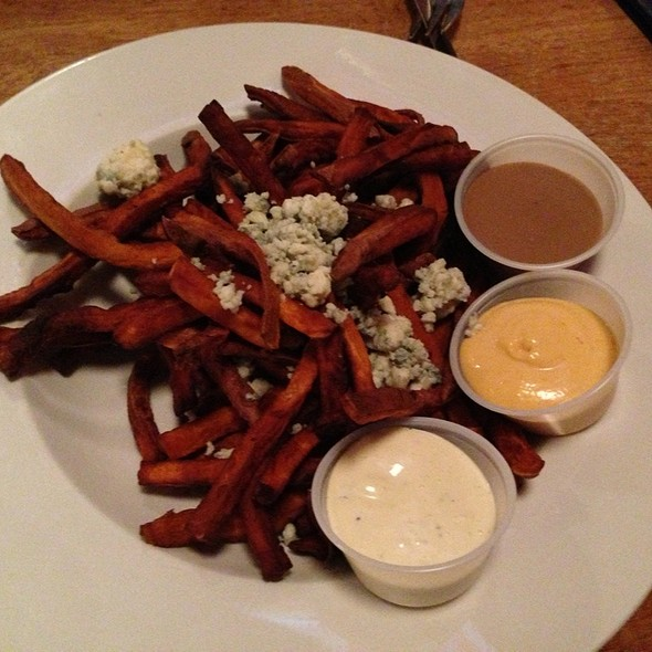 Sweet potato fries @ Alivia's Durham Bistro