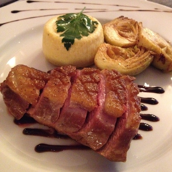 Grilled Duck Breast @ Ô Chateau