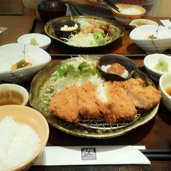 Chicken Katsu @ OOTOYA @ Central Plaza Rama 3