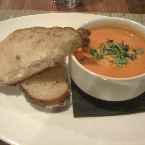 Tomato Soup and Grilled Cheese - Davis Street Tavern, Portland, OR