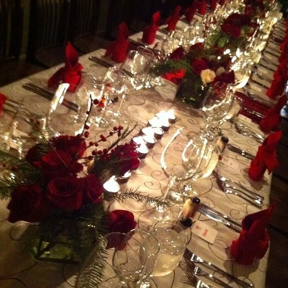 Ready For Christmas Dinner @ Hollys Eventful Dining