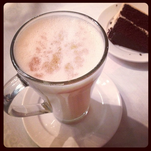 Egg nog latte @ Yosefa AntiquiTEA