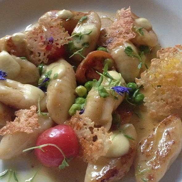 Gnocchi With Fresh Vegetables At Panama Dining Room And Bar