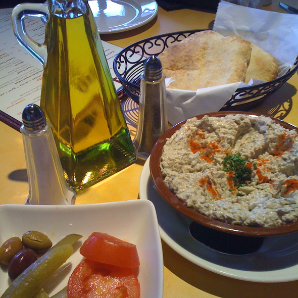 Baba Ghanouj @ Terra Mediterranean Grill
