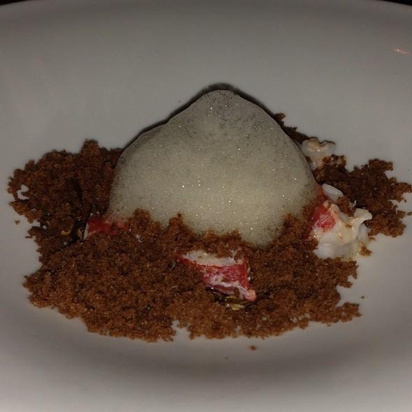 Poached Egg, Lobster, Hen Of The Woods @ Seasonal Restaurant & Weinbar