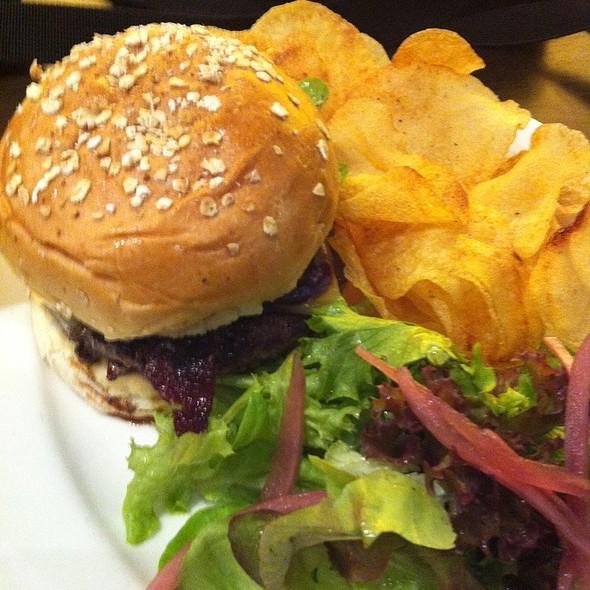 Coffee Rub Burger @ THE GOODS DEPT•