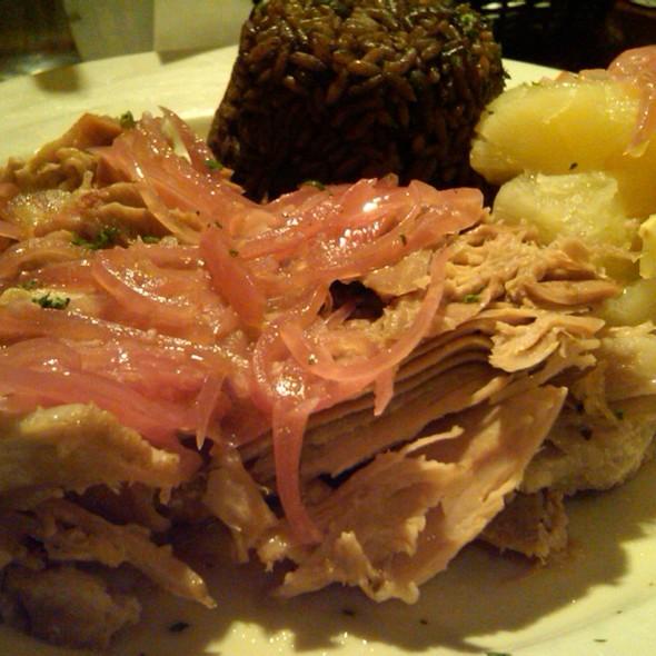 Lechon Asado (slow roasted pork)