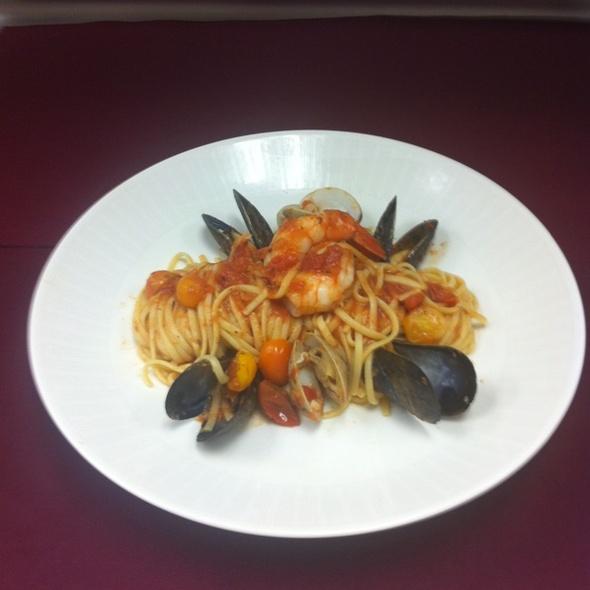 Seafood Linguini - Sea Porch Restaurant at The Don CeSar, St. Pete Beach, FL