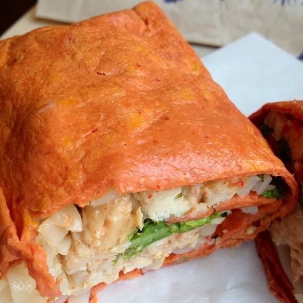 Thai Chicken Wrap @ Water Street Coffee Joint