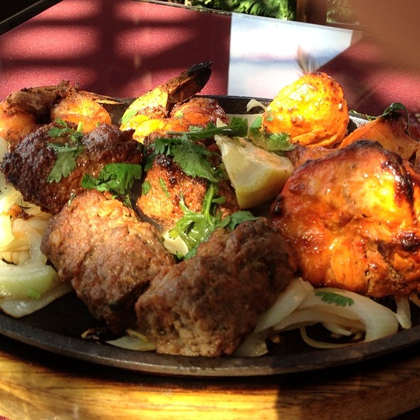 Mixed Kebab @ Monsoon India