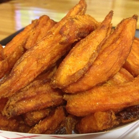 Sweet potato fries @ The Hen House
