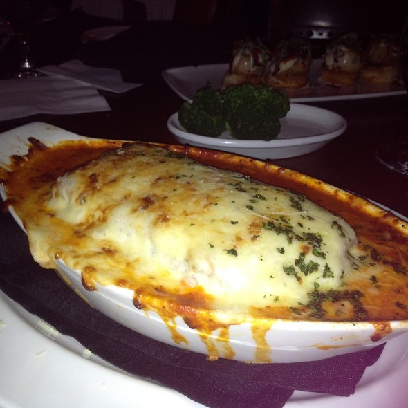Meat Lasagna @ Bugatti's Steak & Pasta