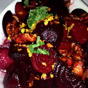 Roasted Baby Beets And Candied Walnuts