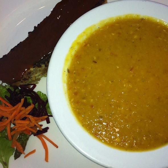 Vegan Neatloaf @ Ananda-Fuara Vegetarian