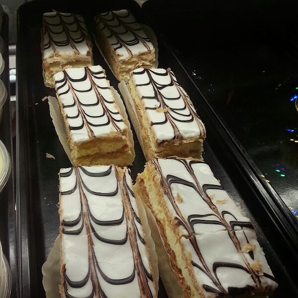 chocolate hazelnut napoleon @ Dino's Carryout Restaurant