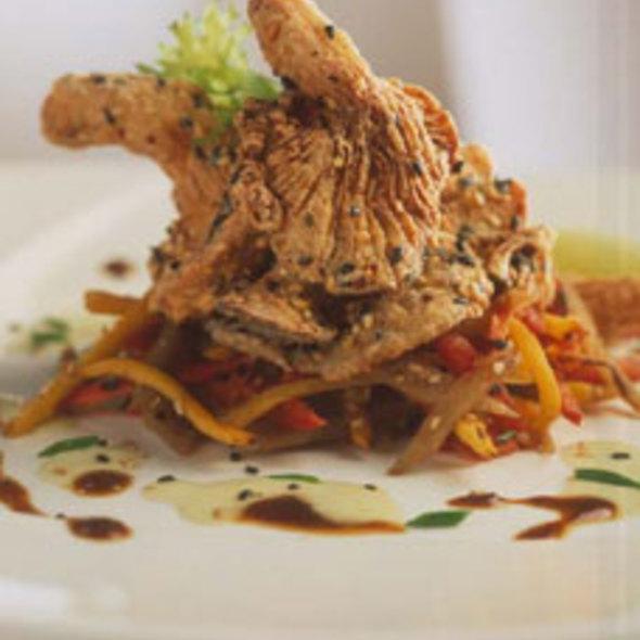 Crusted Oyster Mushroom @ Millennium Restaurant