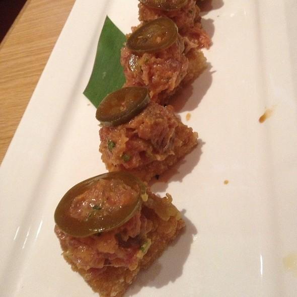 spicy tuna crispy rice - Shokudo - Honolulu, Honolulu, HI