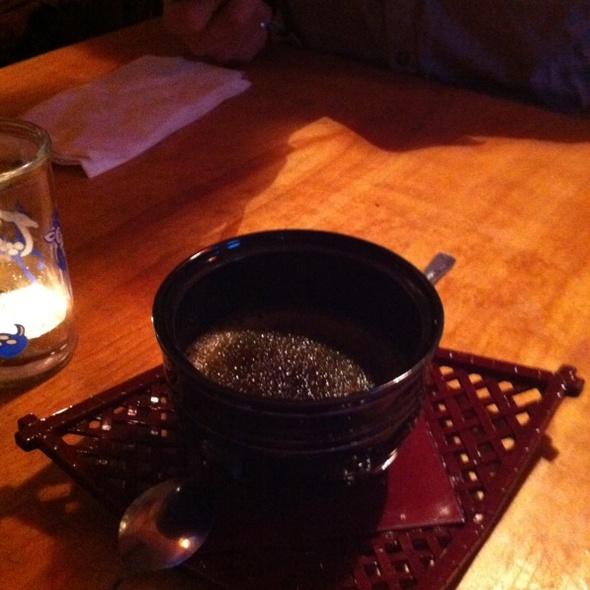 tea flavored creme brulee @ Japanese Kitchen
