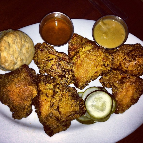buttermilk fried chicken - Heavy Seas Alehouse, Baltimore, MD
