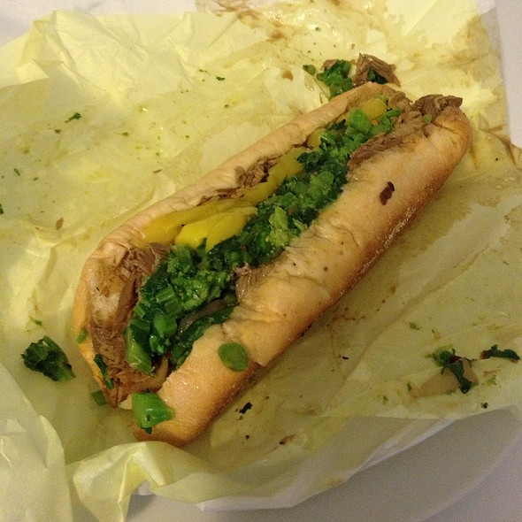 Phat's Roast Pork Sandwich @ Phat Philly