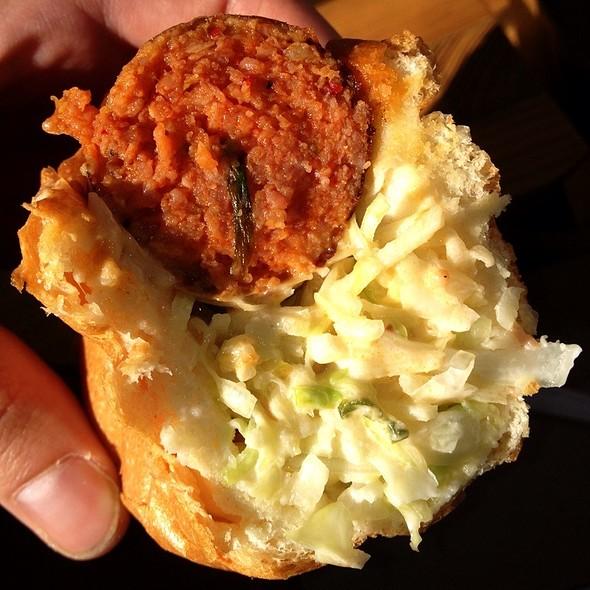 Spicy Pork Sausage @ Seoul Sausage Co