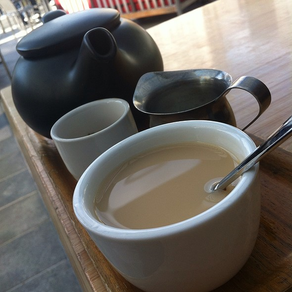 California Persian Black Tea - Samovar Tea Lounge - Yerba Buena Gardens, San Francisco, CA