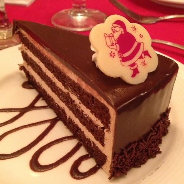 Chocolate torte - Naupaka Terrace, Lihue, HI