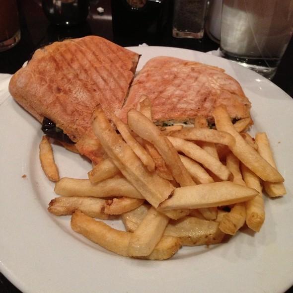 Mozzarella And Eggplant Panini at Cafe Bellini / Burger House / Powell ...