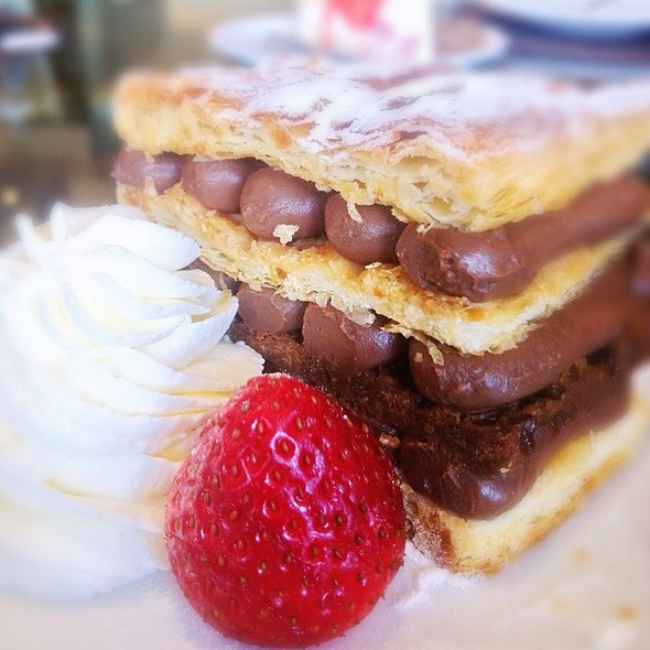 Chocolate Napoleon