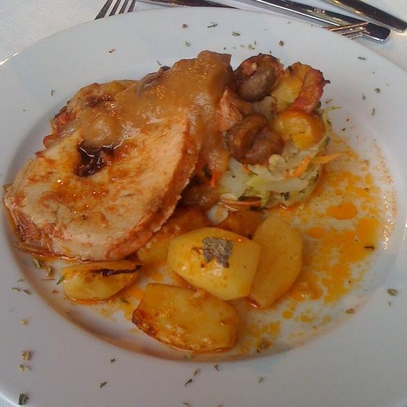 Lombo De Porco Recheado @ Olá Ria Restaurant