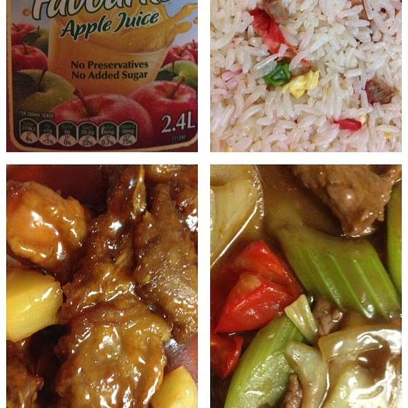 Spare Ribs In Sweet And Sour Sauce And Mongolian Lamb