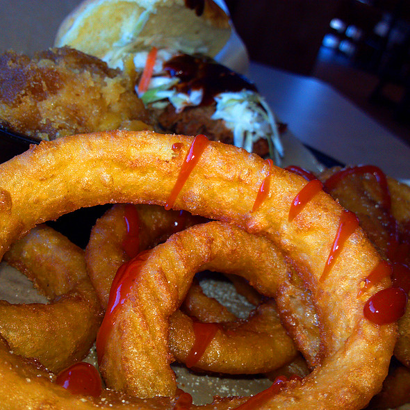 Onion Rings @ Q Barbeque