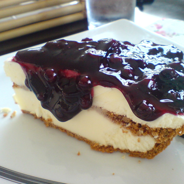 Blueberry Cheese Cake @ Bag Of Beans Coffee Shop And Bakery