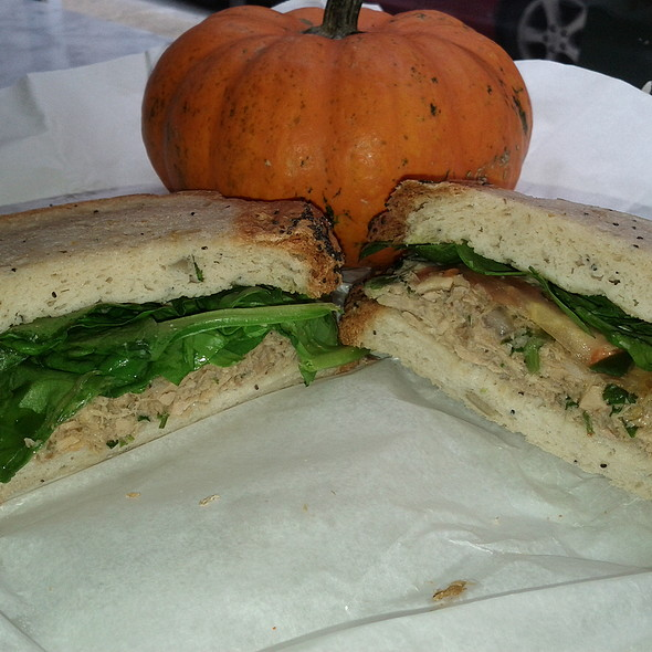 Tuna salad sandwich @ Pure Fare