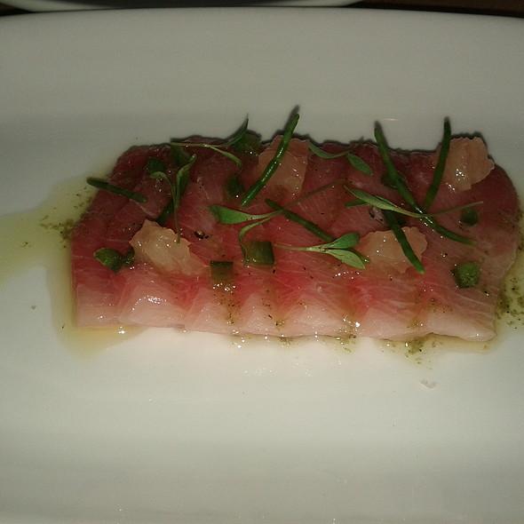 hamachi, ruby grapefruit & jalapeno @ Vernick Food & Drink